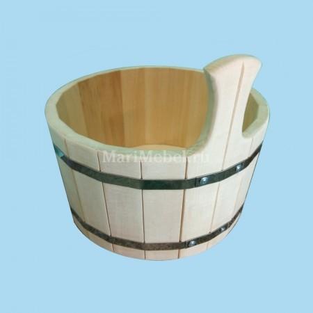 Деревянный ковш для обливания