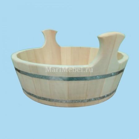 Шайка в баню деревянная
