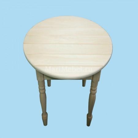 Стол деревянный «Журнальный» круглый