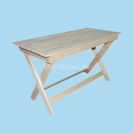 Не раскладной деревянный стол