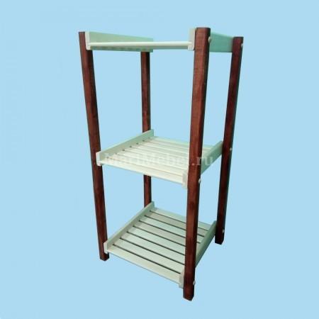 Этажерка деревянная «Тонированная»