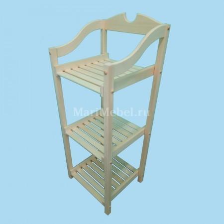 Этажерка деревянная «Резная»