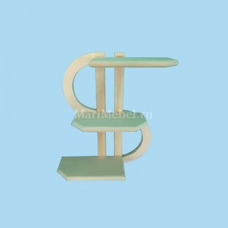 Полка деревянная «Доллар»