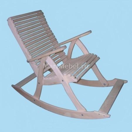 Деревянное кресло качалка (жёсткое)