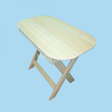 Стол из липы раскладной «Овальный»