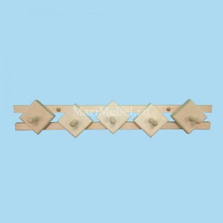 Деревянная вешалка «Ромб»