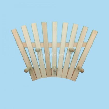Вешалка деревянная «Солнце»